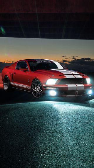 Обои на телефон двигатель, форд, мустанг, мускул, машины, красые, американские, mustang gt 500, mustang, gt500, ford