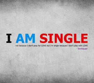 Обои на телефон шрифт, один, серые, молитва, любовь, игра, love, i am single