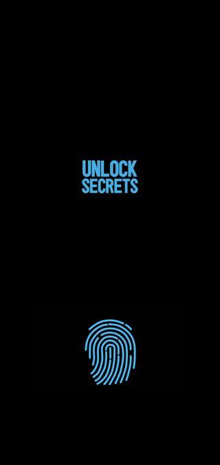 Обои на телефон палец, черные, синие, секрет, разблокировать, принт, поговорка, пароль, мой, блокировка, unlock secrets, secrets, my secrets, finger print