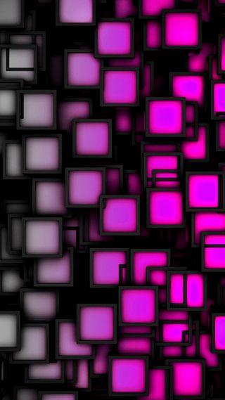 Обои на телефон квадраты, розовые, абстрактные