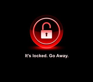 Обои на телефон заблокировано, экран блокировки, девиз, блокировка