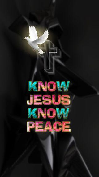 Обои на телефон знать, христианские, исус, библия, know jesus