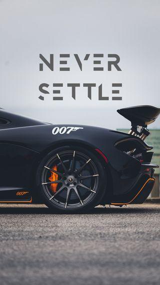 Обои на телефон решить, никогда, one plus 3t, never settle, 007