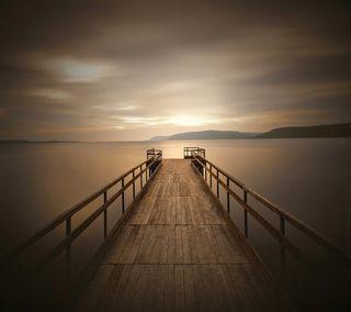 Обои на телефон фото, спокойные, пристань, крутые, peaceful dock