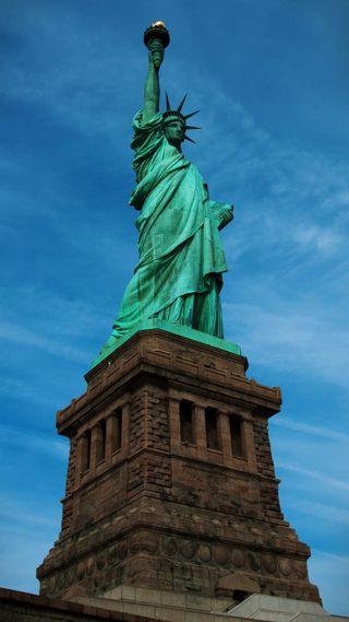 Обои на телефон нью йорк, юнайтед, сша, свобода, новый, йорк, город, америка, usa, ny