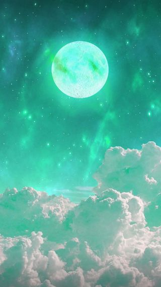 Обои на телефон университет, ночь, луна, логотипы, звезды, звезда, вселенная, mint moon, full