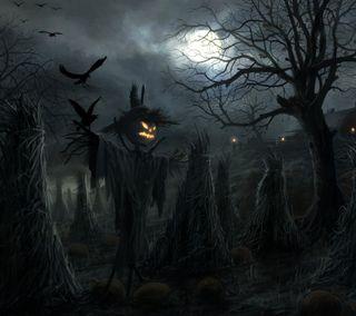 Обои на телефон тыква, хэллоуин, аниме, railings, monster