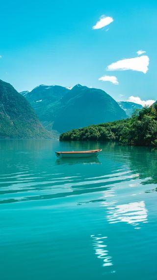 Обои на телефон море, приятные, премиум, прекрасные, популярные, любовь, лодки, лес, горы, love