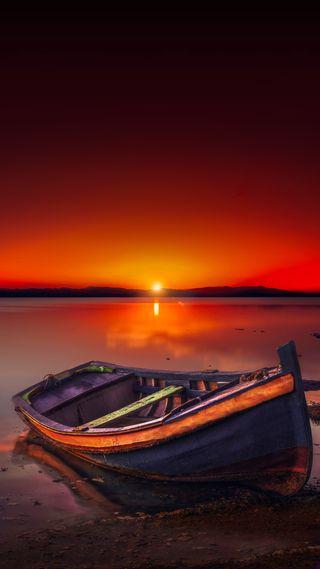 Обои на телефон лодки, солнце, barque