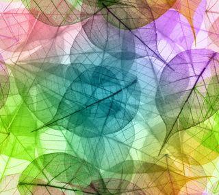 Обои на телефон pastel colors, абстрактные, красочные, цветные, листья, пастельные, макро