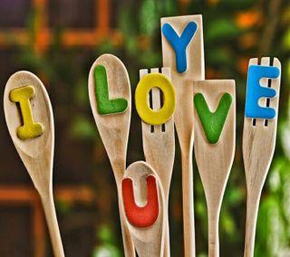Обои на телефон простые, милые, любовь, логотипы, love