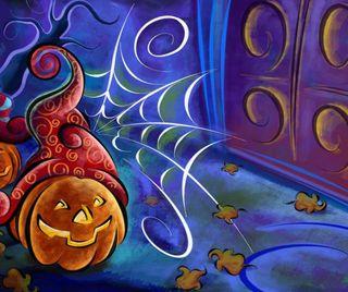Обои на телефон тыква, хэллоуин