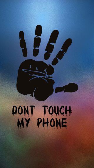 Обои на телефон поговорка, знаки, телефон, не, трогать