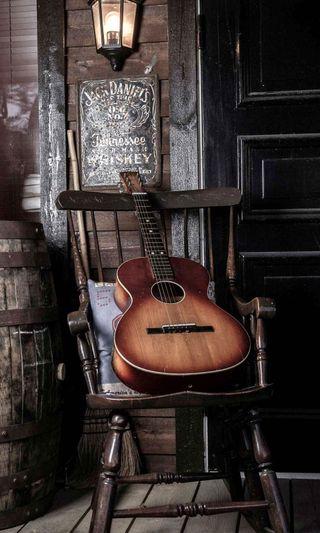 Обои на телефон гитара, старые, old guitar