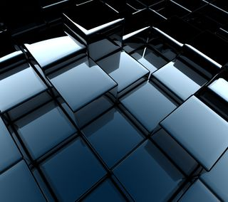 Обои на телефон кубы, стальные, куб, коробка, абстрактные, 3д, 3d