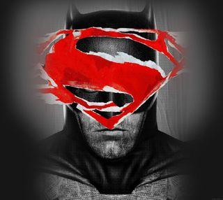 Обои на телефон против, супермен, бэтмен