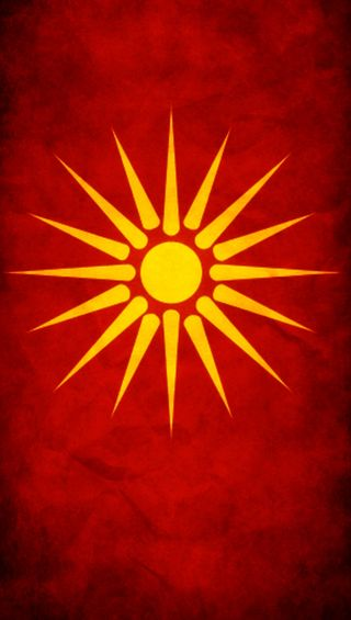 Обои на телефон флаги, флаг, makedonija, macedonia