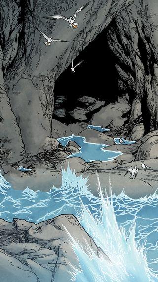 Обои на телефон холм, ужасы, родригес, пещера, лавкрафт, комиксы