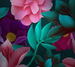 Обои на телефон лотус, цветы, розы, mate10