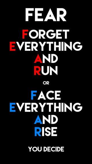 Обои на телефон цитата, страх, никогда, жизнь, up, give