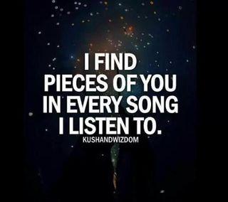 Обои на телефон песня, цитата, ты, музыка, любовь, love, in every song