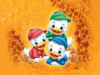 Обои на телефон три, мультики, three brothers, duckling