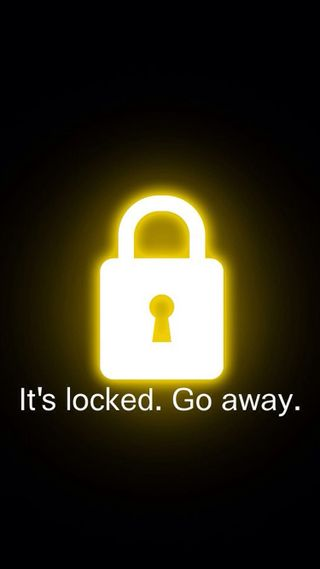 Обои на телефон заблокировано, далеко, блокировка, its locked go away, go away