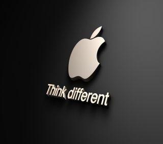 Обои на телефон думать, эпл, милые, логотипы, другой, think different, apple