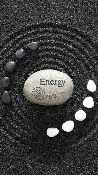 Обои на телефон энергетики, сад, песок, камни, дзен