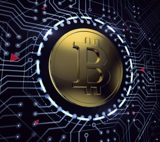 Обои на телефон технология, технологии, микросхема, деньги, bitcoin