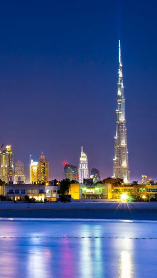 Обои на телефон утес, оаэ, дубай, бурдж, jumeirah, cliff rozal, burj khalifa dubai, burj khalifa