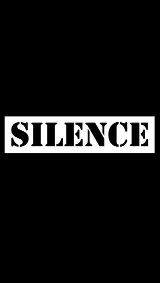 Обои на телефон тишина, черные, черно белые, темные, слово, белые