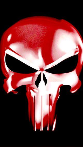 Обои на телефон каратель, череп, кровь, vengeance, out for blood, antihero