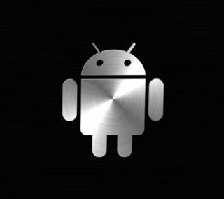 Обои на телефон металлические, черные, андроид, android
