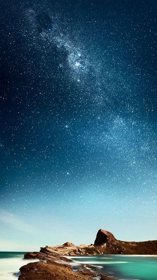 Обои на телефон красота, небо, звезды