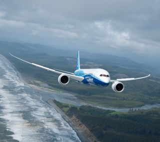 Обои на телефон самолет, dreamliner, boeing 787, boeing, aviation, airport