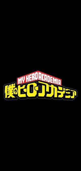 Обои на телефон логотипы, герой, боку, бнха, аниме, академия