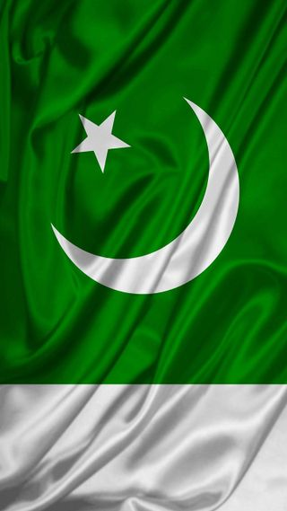 Обои на телефон флаги, флаг, пакистан, зеленые, белые