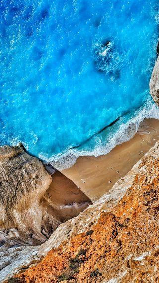 Обои на телефон сяоми, океан, небо, морской берег, море, ми, xiaomi mi pad 4, xiaomi, pad