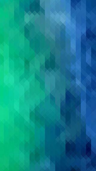 Обои на телефон мозаика, шаблон, синие, зеленые, векторные, абстрактные, hd, 1080p