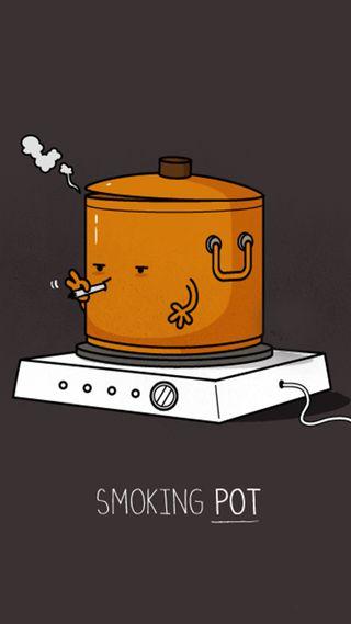 Обои на телефон сигареты, pot