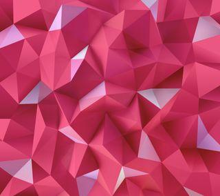 Обои на телефон многоугольник, абстрактные, lg, g4 polygons, g4, 3д, 3d