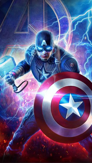 Обои на телефон щит, финал, тор, супергерои, мстители, молния, марвел, капитан, америка, marvel