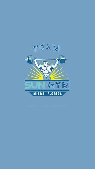 Обои на телефон спортзал, боль, солнце, синие, мотивация, бодибилдинг, sun gym, pain and gain