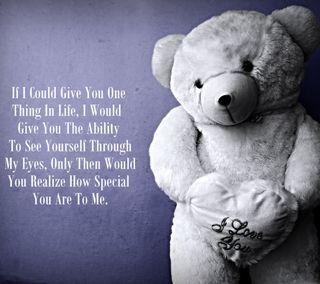 Обои на телефон тедди, специальные, медведь, сердце, приятные, любовь, классные, that, partner, one, love