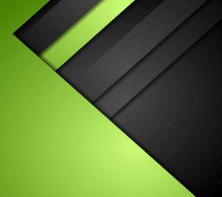 Обои на телефон черные, темные, плоские, материал, зеленые, андроид, material gb, lollipop, five, android