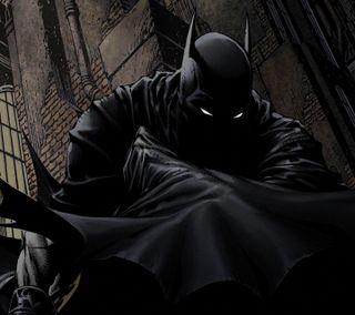 Обои на телефон комиксы, бэтмен, perched, dc
