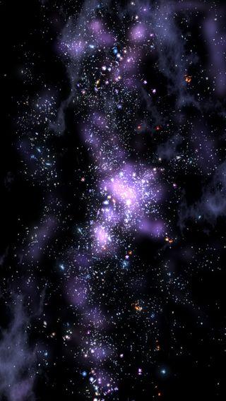 Обои на телефон туманность, природа, звезды, галактика, galaxy nebula, galaxy