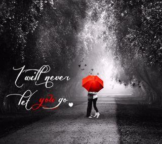 Обои на телефон love, never let you go, любовь, сердце, цитата, поговорка, грустные, ты, сломанный, никогда, повредить, скучать, доверять