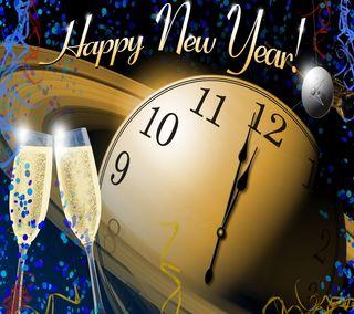 Обои на телефон часы, напиток, праздник, новый, время, алкоголь, nye, new years